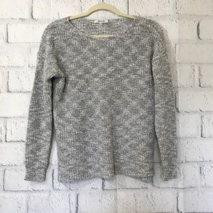 Madewell Womens Size XS Sweater Gray Knit Cotton